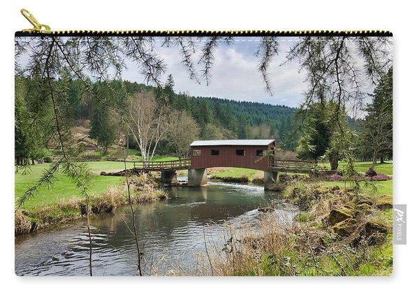 Ranch Hills Covered Bridge Carry-all Pouch