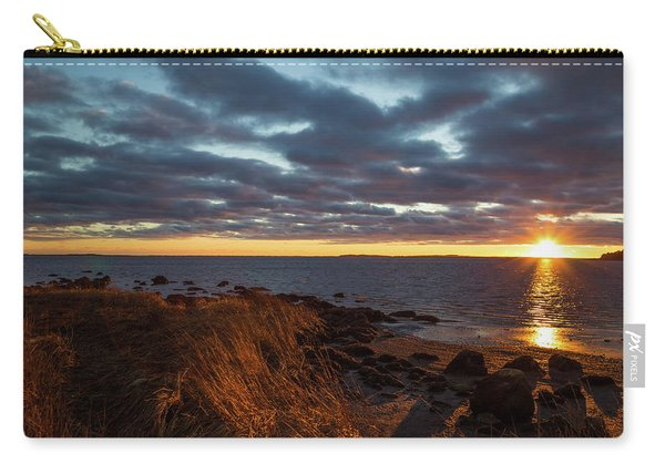 Randall Point Sunset At Barn Island - Stonington Ct Carry-all Pouch