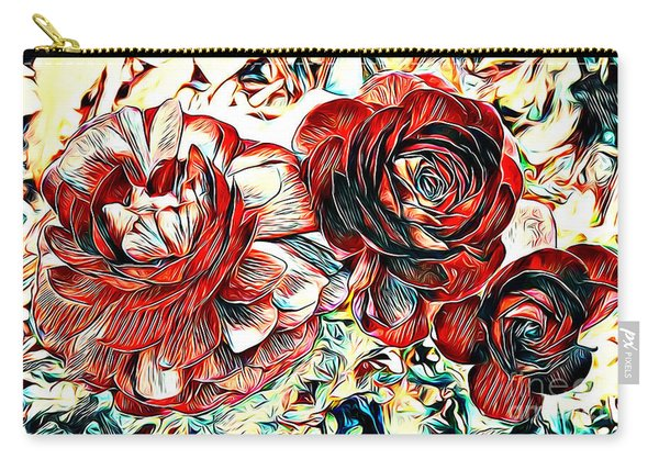 Ranunculus Revisited Carry-all Pouch