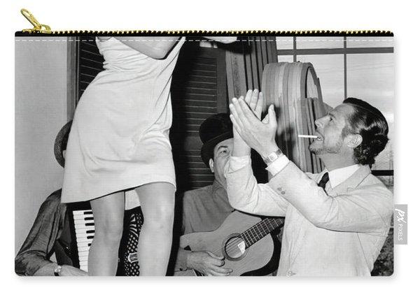 Raquel Table Dances C. 1960 Carry-all Pouch