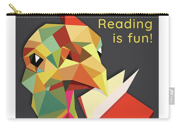 Reading Is Fun Carry-all Pouch