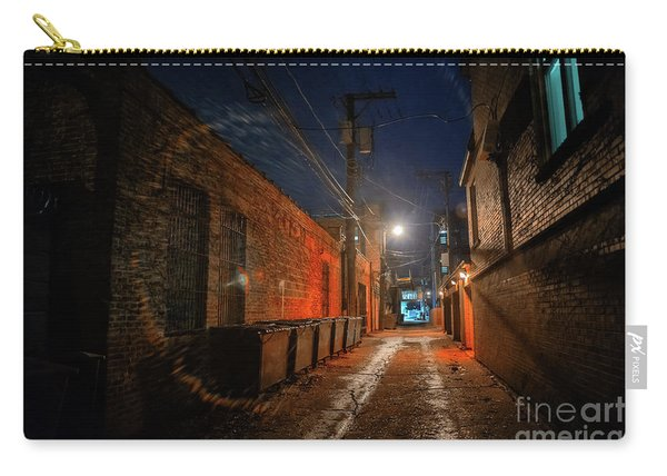 Red Alley Carry-all Pouch