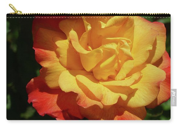 Red And Yellow Rio Samba Roses Carry-all Pouch