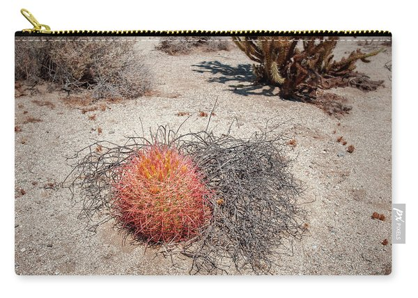 Red Barrel Cactus And Mesquite Carry-all Pouch