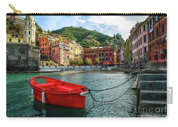 Red Boat Vernazza Cinque Terre  Carry-all Pouch