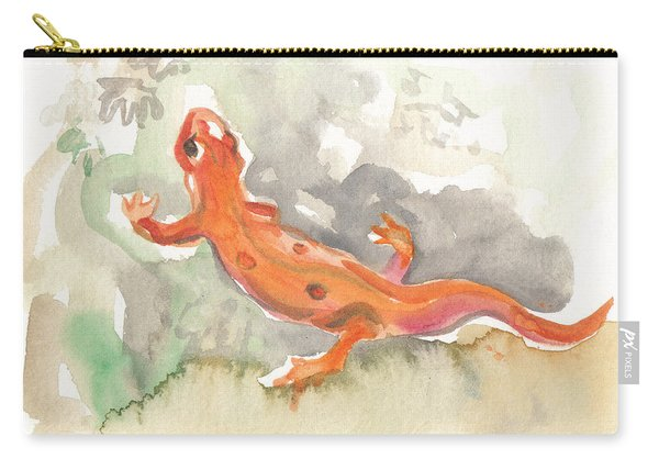 Red Eft Carry-all Pouch