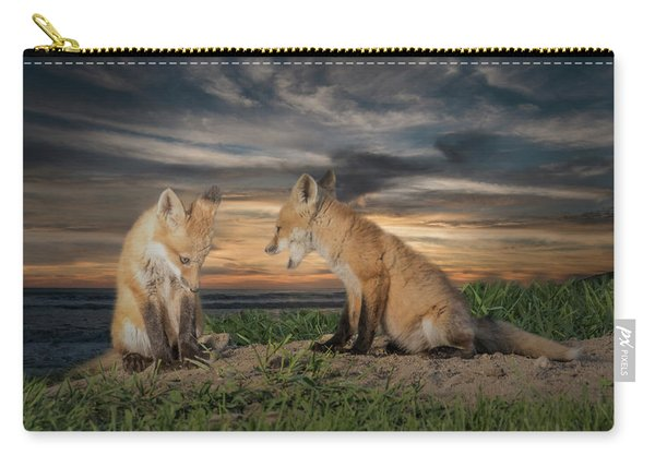 Red Fox Kits - Past Curfew Carry-all Pouch