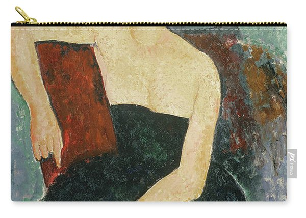 Red Headed Girl In Evening Dress, 1918  Carry-all Pouch