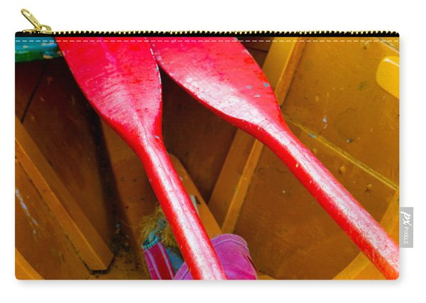 Red Oars Carry-all Pouch