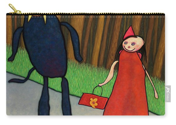 Red Ridinghood Carry-all Pouch