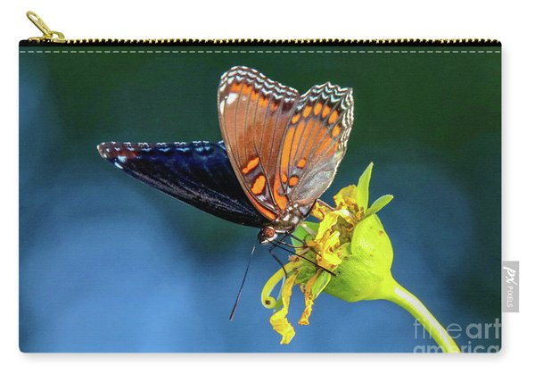 Red-spotted Purple Butterfly Carry-all Pouch
