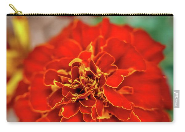 Red Summer Flowers Carry-all Pouch