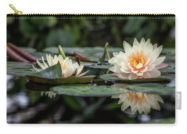 Delicate Reflections Carry-all Pouch