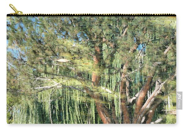 Reflecting Trees Carry-all Pouch