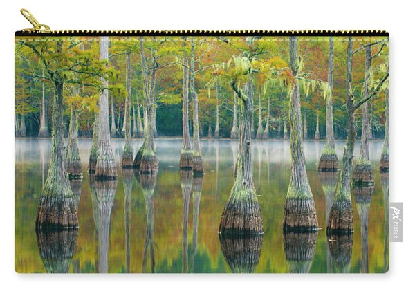 Reflection Of Bald Cypress Taxodium Carry-all Pouch