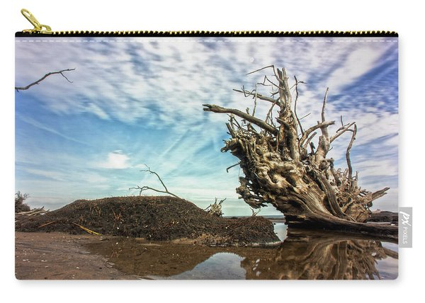 Reflections At Black Rock Carry-all Pouch