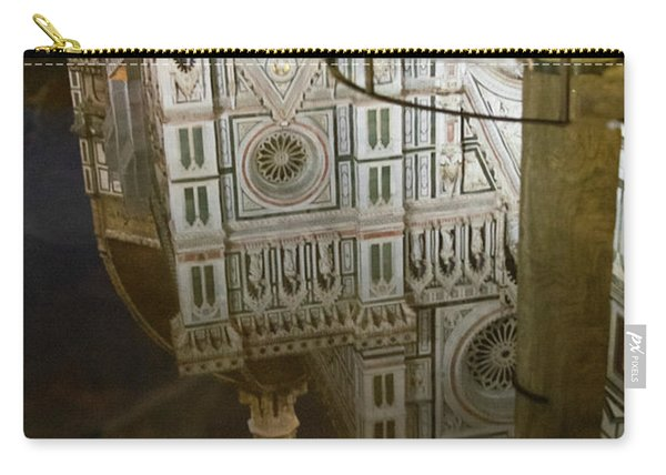 Reflections El Duomo The Florence Italy Cathedral Carry-all Pouch