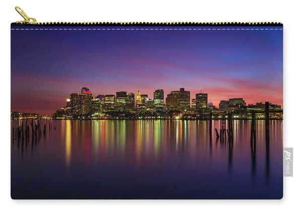 Reflections Of Boston II Carry-all Pouch