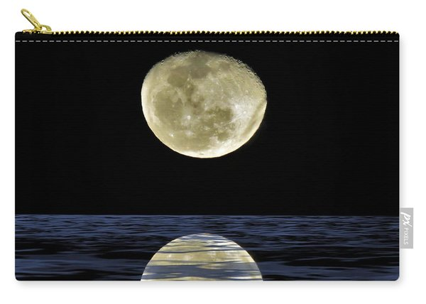 Reflective Moon Carry-all Pouch