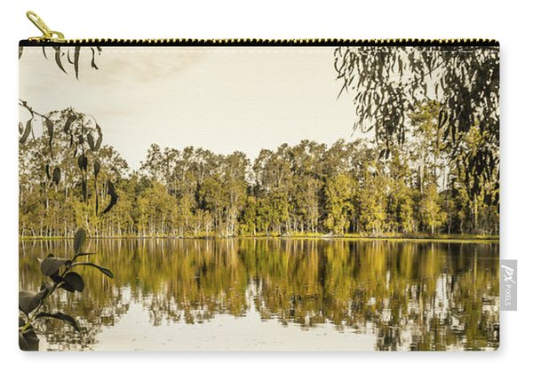 Reflective Rivers Carry-all Pouch