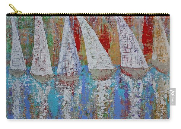 Regatta Original Painting Carry-all Pouch