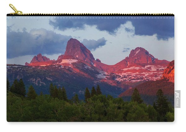 Reliving The Tetons Carry-all Pouch