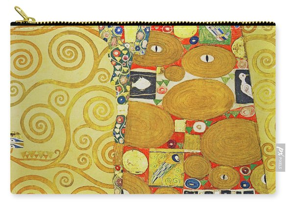 Remastered Art Preparatory Design Stoclet Palace Frieze By Gustav Klimt 20190215 Carry-all Pouch