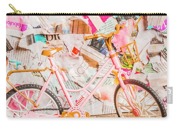 Retro City Cycle Carry-all Pouch