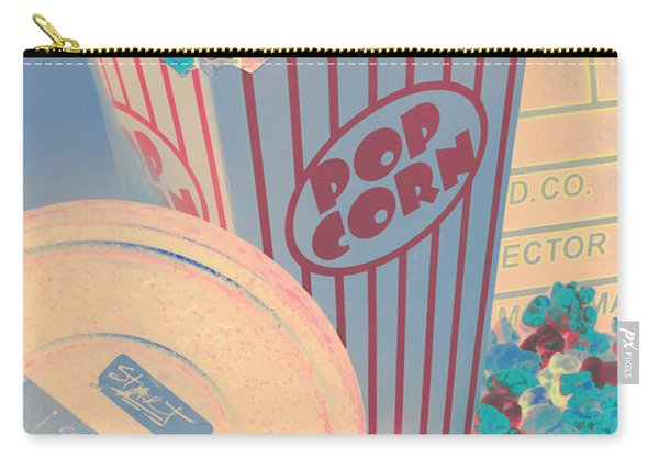 Retro Flicks Carry-all Pouch