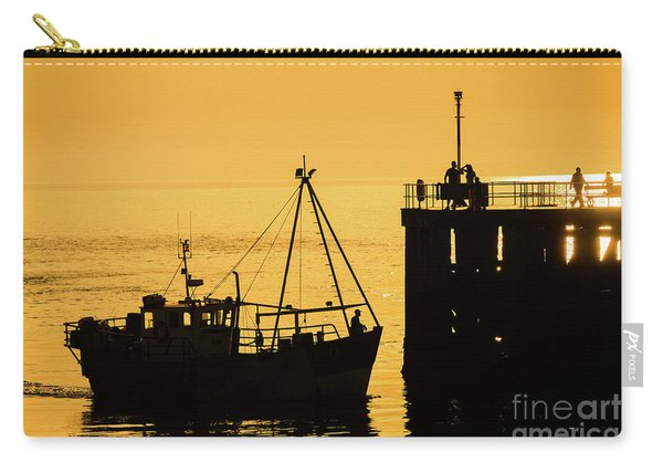 Returning To Harbour At Dusk Carry-all Pouch