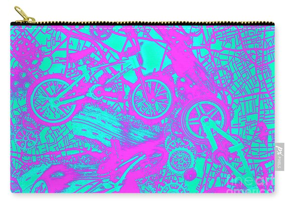 Riding Retro Routes Carry-all Pouch