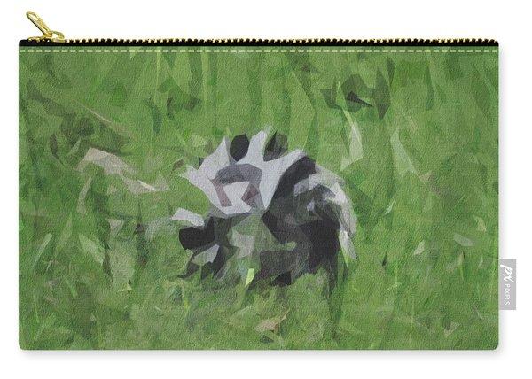 Ring Tailed Lemur Lemur Black White Carry-all Pouch