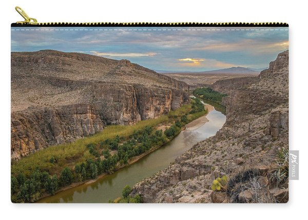Rio Grande Sunset Carry-all Pouch