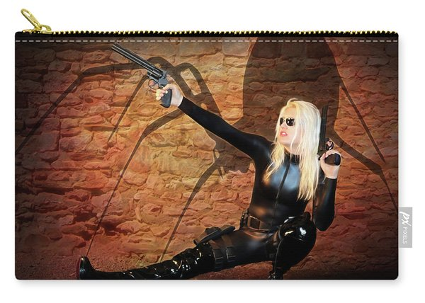 Rise Of The Black Widow Carry-all Pouch