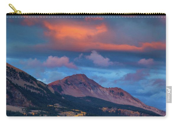 Carry-all Pouch featuring the photograph Rising Color  by John De Bord
