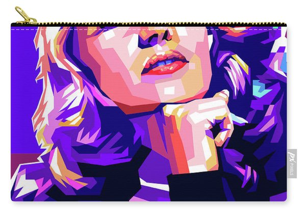 Rita Hayworth Illustration Carry-all Pouch