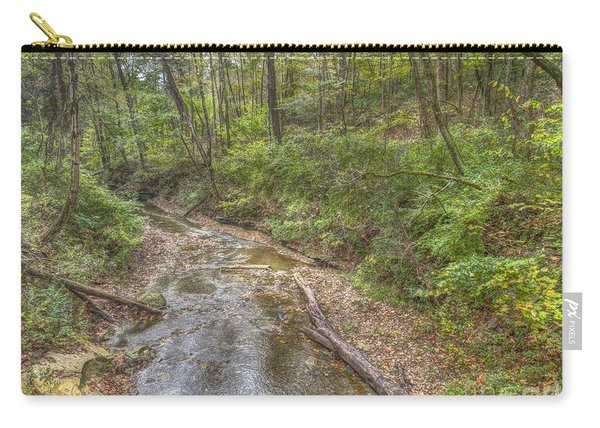 River Flowing Through Pine Quarry Park Carry-all Pouch