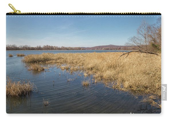 River Grass Carry-all Pouch