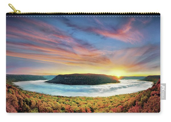 River Of Fog Carry-all Pouch