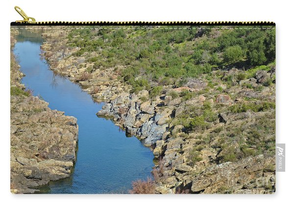 River On The Rocks. Color Version Carry-all Pouch