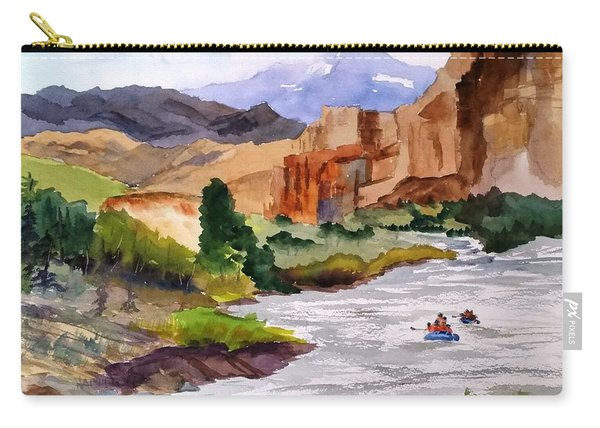 River Rafting In Montana Carry-all Pouch