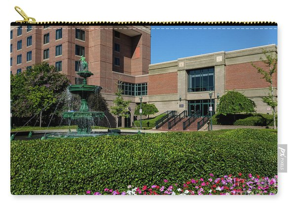 Riverwalk Augusta Ga Fountain Carry-all Pouch