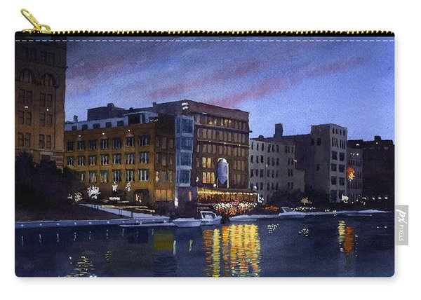 Riverwalk Nocturne Carry-all Pouch