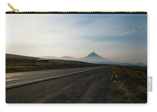 Road Through The Rockies Carry-all Pouch