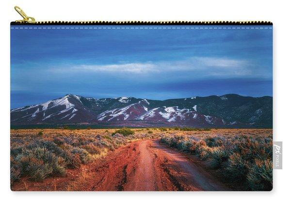 Road To Sangre De Cristo Mountain Range Carry-all Pouch