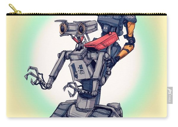 Robot Pals Carry-all Pouch