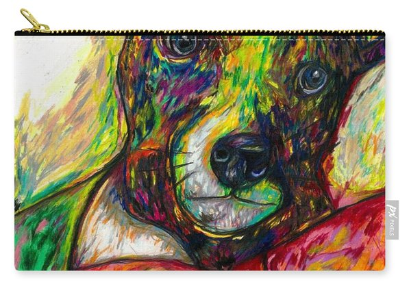 Rocket The Dog Carry-all Pouch
