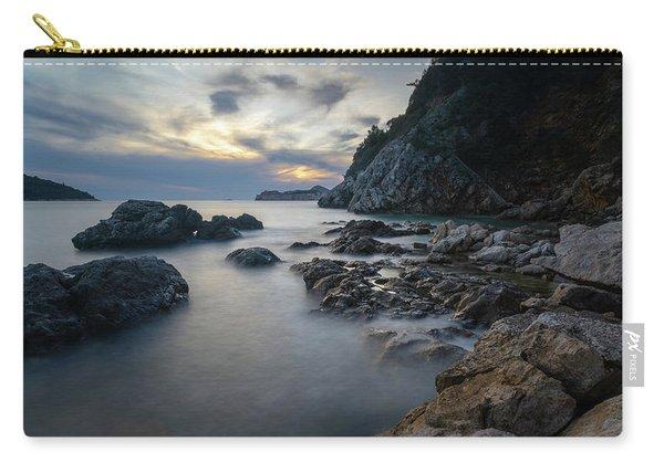 Rocky Coast Near Dubrovnik Carry-all Pouch