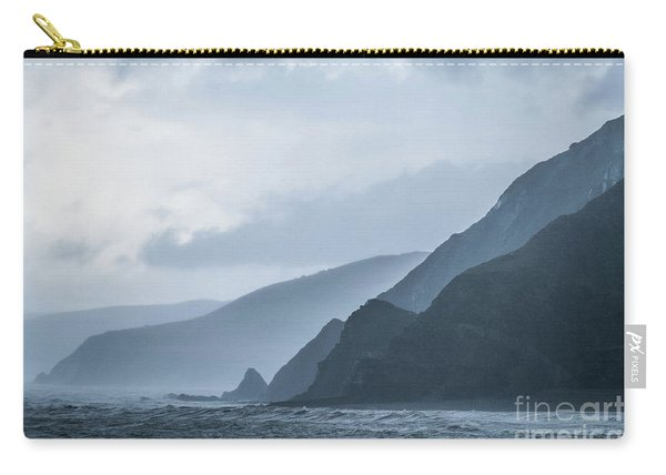 Rocky Coastline In West Wales Carry-all Pouch
