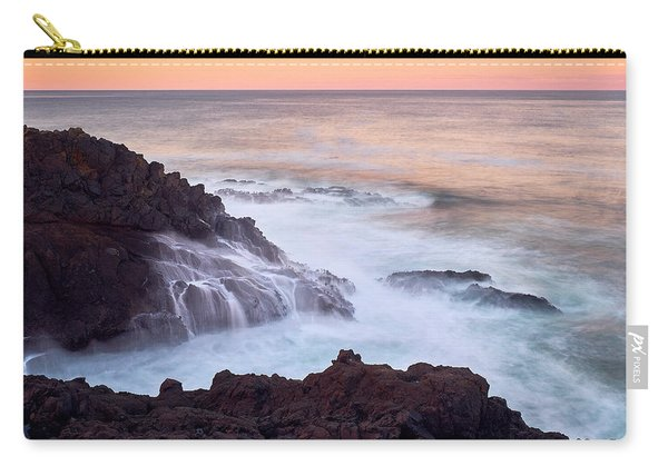 Carry-all Pouch featuring the photograph Rocky Creek by Whitney Goodey